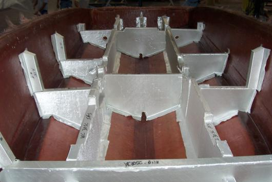 Composite Boat Stringers : Repairing replacing composite stringers bulkheads