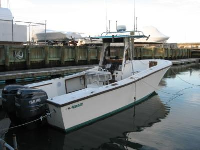 1987 261 Mako Center Console. Twin 2007 Yamaha 200 HPDI Outboards, ...