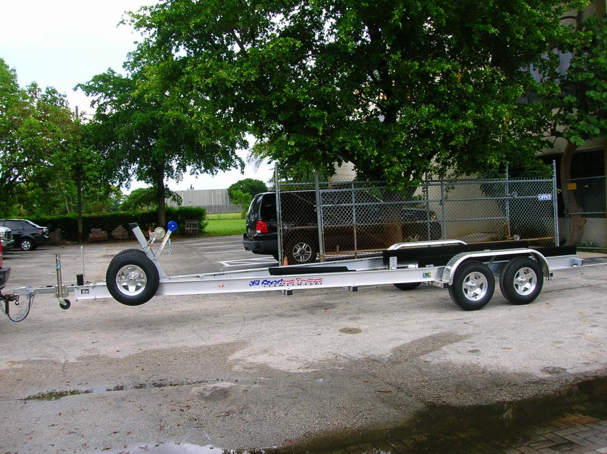 Custom Aluminum Boat Trailers